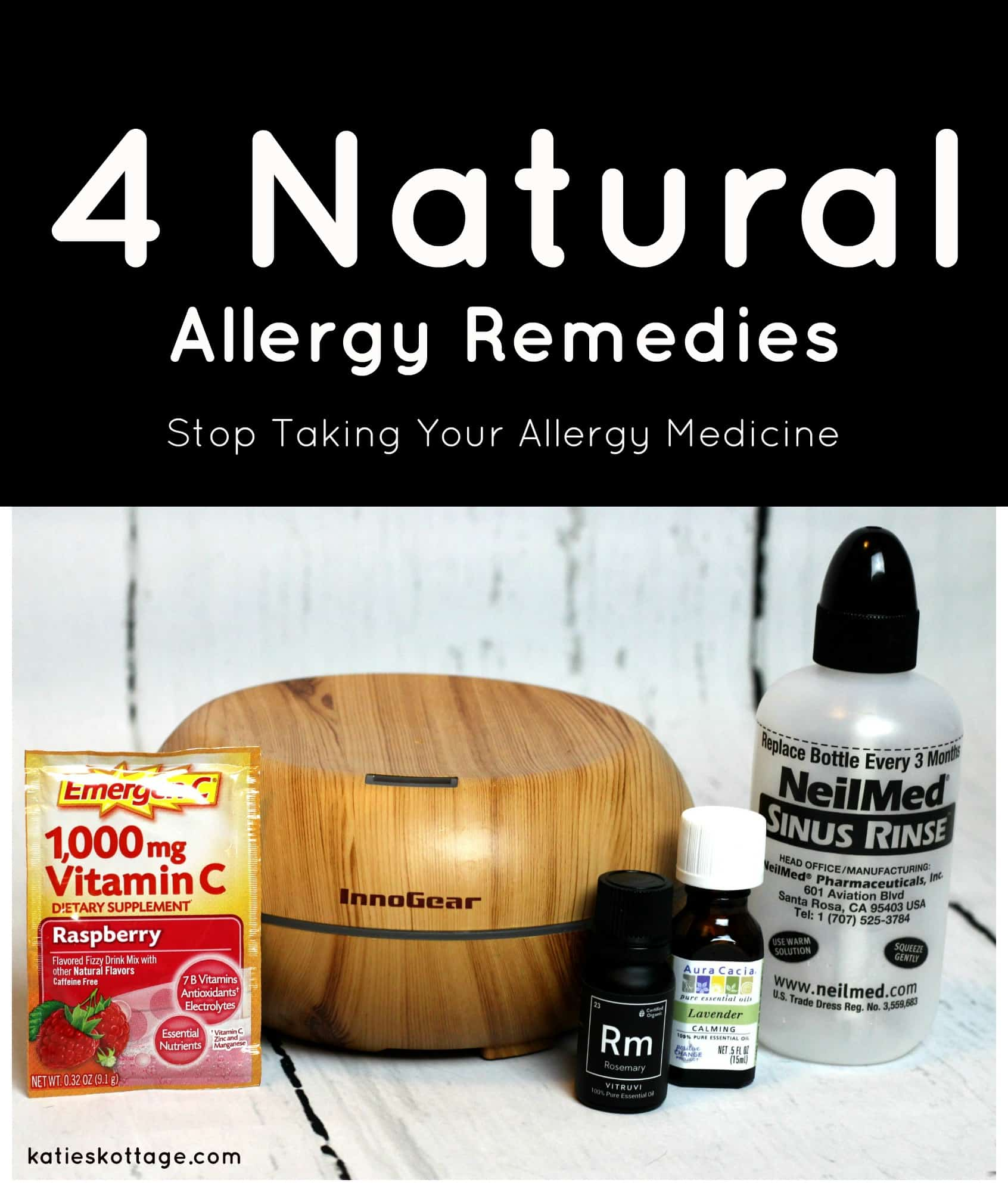 natural allergy remedies