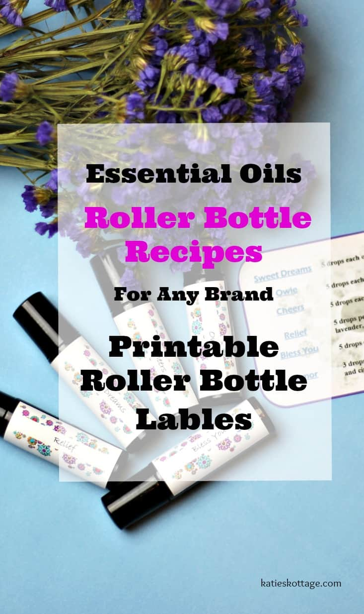 Essential Oils Roller Bottle Recipes And Roller Bottle