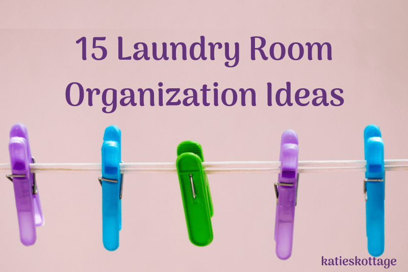 Laundry Room Organization ideas for any small or large laundry room. DIY storage and laundry shelves or great storage solutions you can buy. Also, some tips on keeping your laundry room organized. #organization #laundry #laundryroom #laundryroomideas #laundryroomorganization #cleaning #cleanigtips #cleaninghacks #declutter #minimalism #simplify