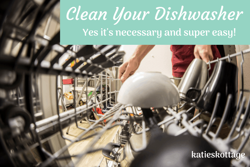 How to deep clean dishwasher with baking soda and vinegar. #cleaningtips #vinegar #cleaningtipsandhacks #cleaninghacks