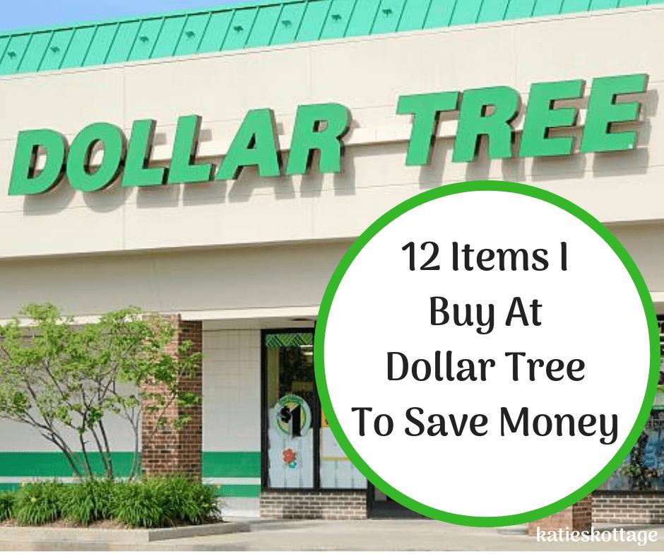 12 Things I Buy At Dollar Tree To Save Money - KatiesKottage
