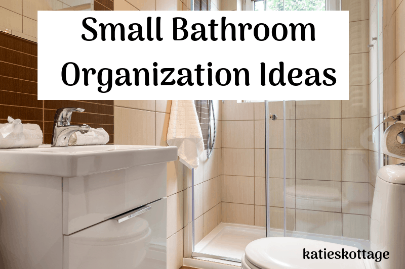 small bathroom organization ideas #organization