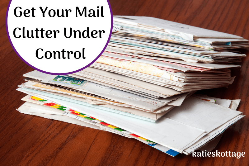 Solutions for your mail clutter and tips for keeping paper clutter off of your kitchen counter