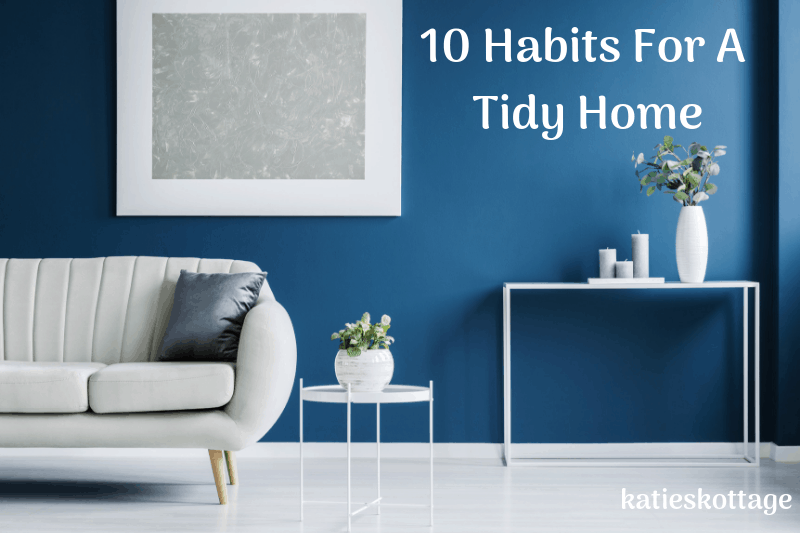habits of people with clean homes