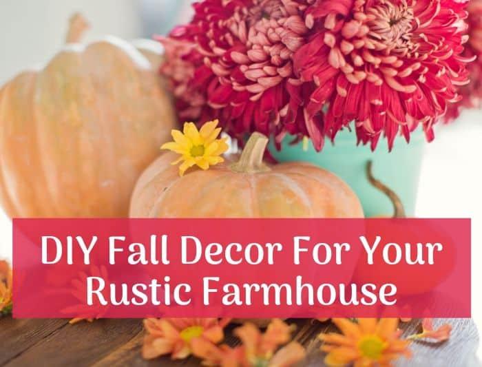 diy rustic fall decor