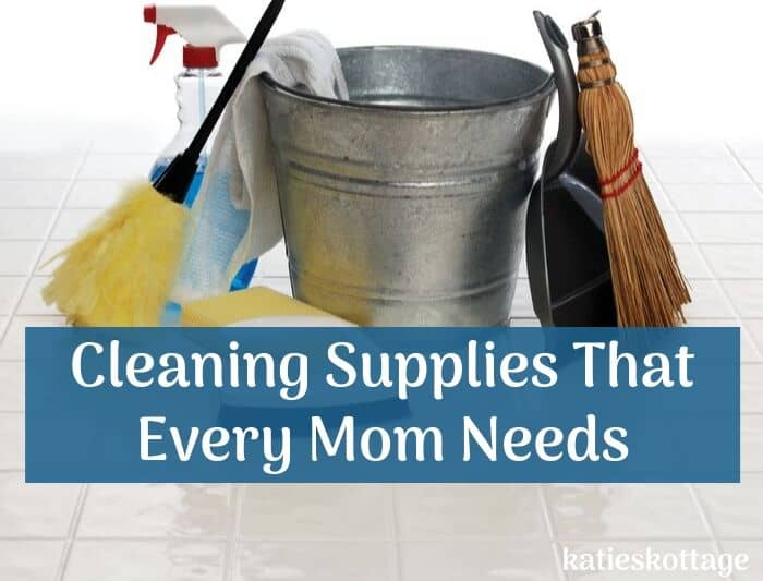 cleaning supplies everyone needs