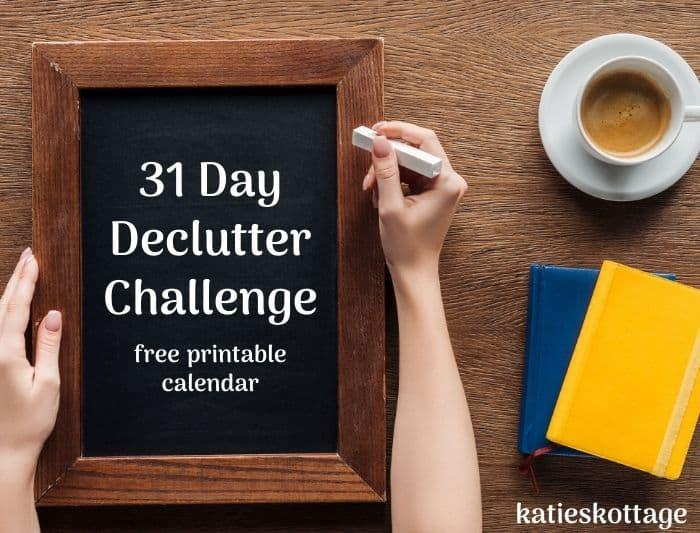 30 day declutter challenge