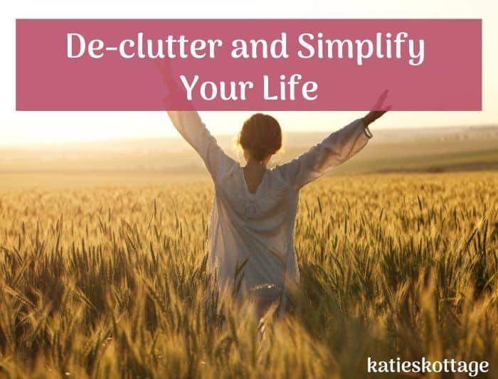 declutter you life inspiration