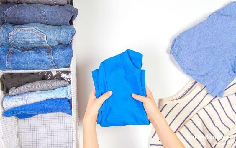 fold clothes like marie kondo