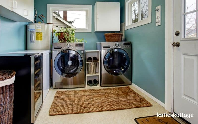clean front loading washing machine