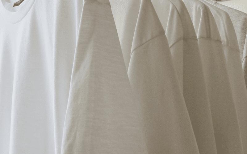 clean white tshirts